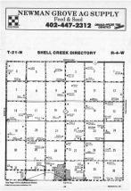 Shell Creek T21N-R4W, Madison County 1988